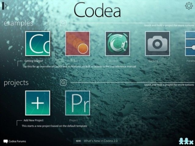 Codea Adds Revamped Code Editor And 64-Bit Support