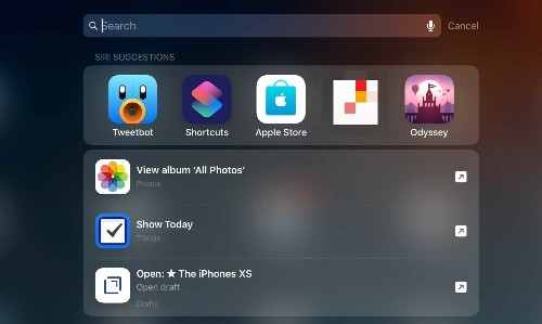 How to create your first Siri Shortcut