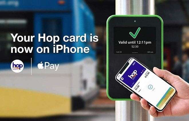 Riders in Portland can now use Apple Pay for their Hop Fastpass