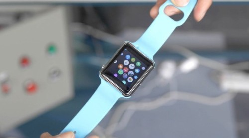 Behold this shameless Chinese Apple Watch clone running Android