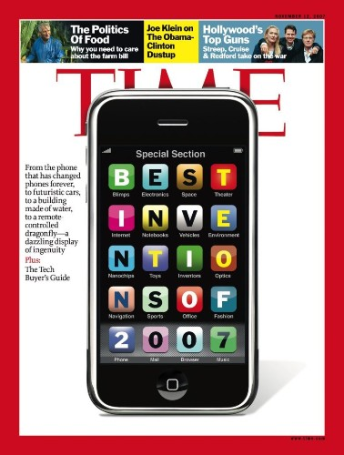 Today in Apple history: iPhone is crowned 2007's 'invention of the year'