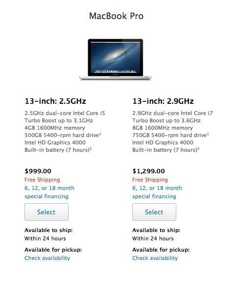 Entry-Level MacBook Pro Now Costs $999 For Students