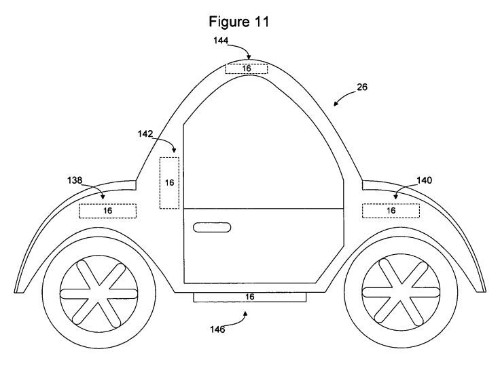 What Apple's patents tell us about a possible iCar