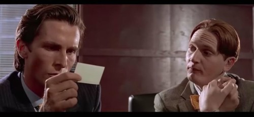 Famous American Psycho scene gets Apple Card upgrade