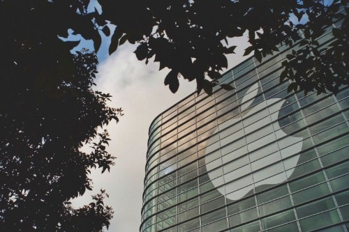 Kaleidoscopic banners tout WWDC as 'epicenter of change'