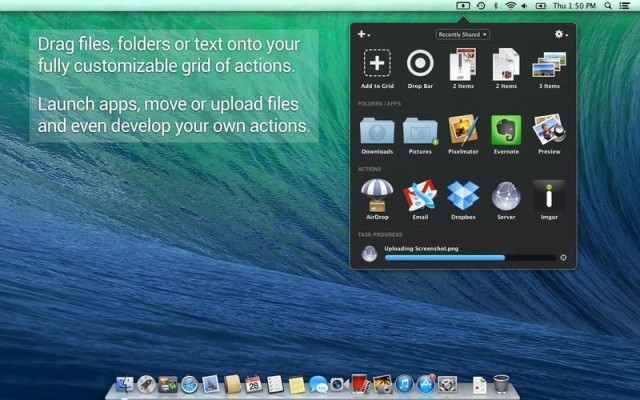 Dropzone 3, the best way to drag-n-drop on your Mac, just got even better