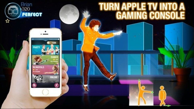 Dance Party will transform your iPhone and Apple TV into a Nintendo Wii