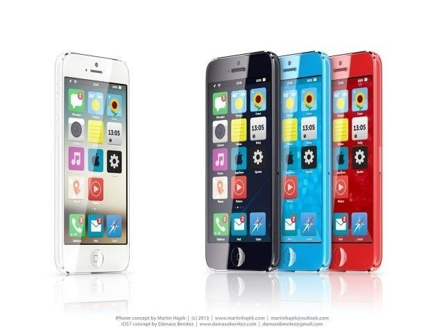 The iPhone Mini Running Jonathan Ive's Redesigned iOS 7 Would Be Gorgeous [Gallery]