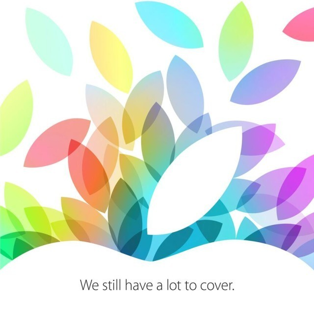 What To Expect From Apple's October 22 iPad Event
