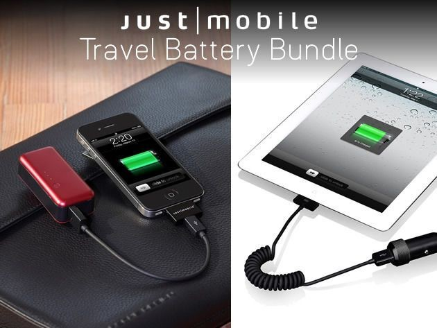 Travel Worry-Free With The Backup Battery Bundle [Deals]