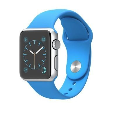 Apple Watch Sport ships with a weird tri-sectioned band