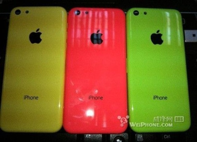 These Leaked Pictures Of The Budget iPhone Are As Colorful As A Pack Of Skittles [Image]