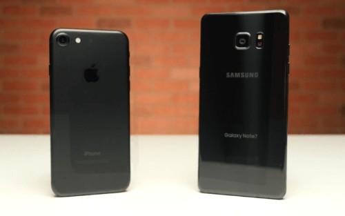 iPhone 7 destroys Samsung's Galaxy Note 7 in speed test