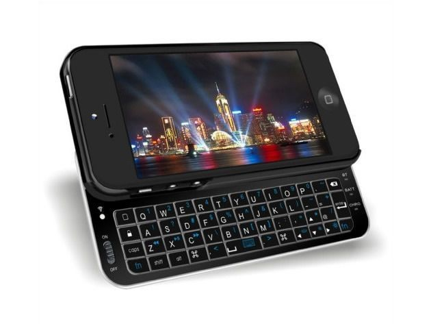 Go Tactile With The iPhone 5/5S Bluetooth Keyboard Case [Deals]