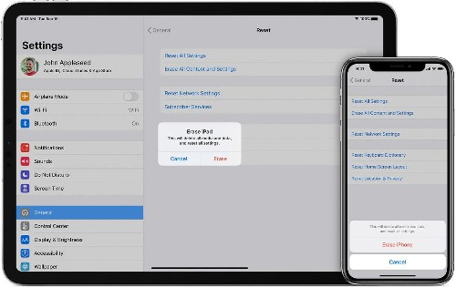 How to safely erase your iPad, iPhone or Mac before returning it