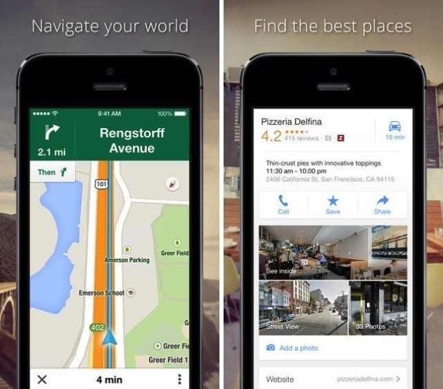 Google Maps Now Advises iOS Users When Faster Routes Become Available