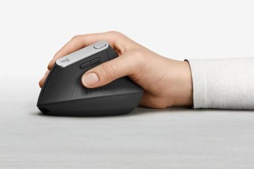 Logitech's new vertical mouse packs pro features into ergonomic design