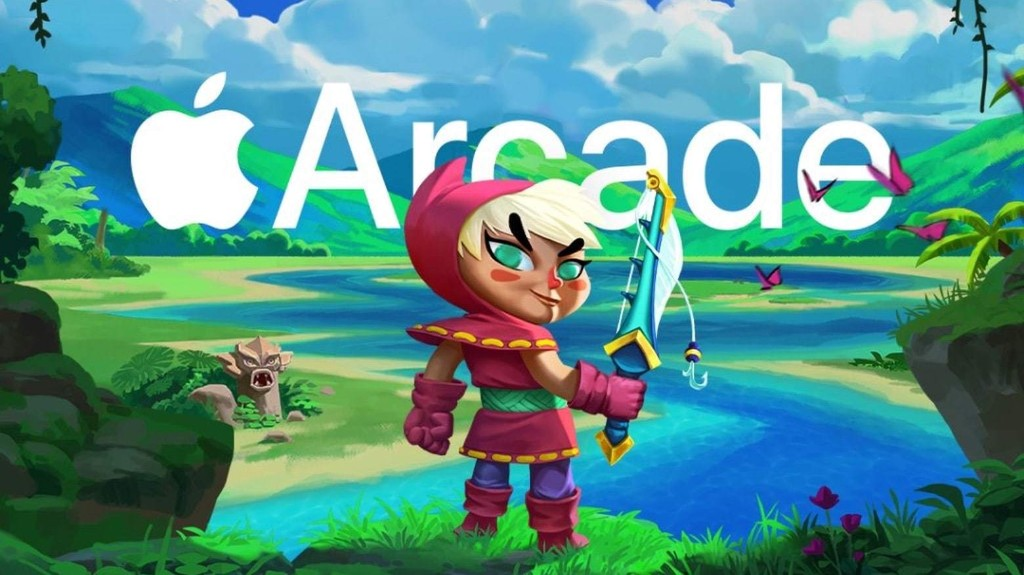 Legend of the Skyfish 2 sends players on a sword and hook adventure