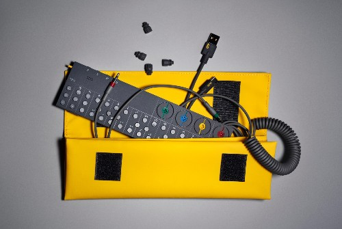 OP-Z pocket synthesizer uses the iPhone as its screen