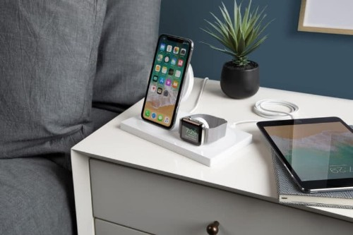 Belkin's gorgeous dock charges iPhone XS and Apple Watch with style