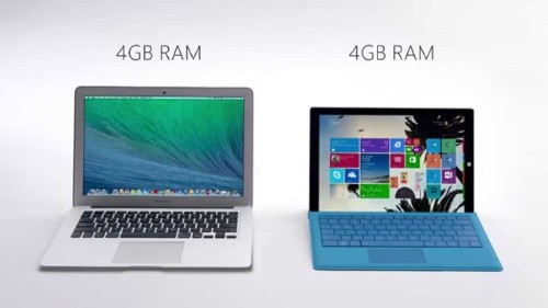 All Surface, no substance: Microsoft's new ads target MacBook Air