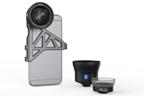 New case lets photographers mount ZEISS lenses on iPhone 7