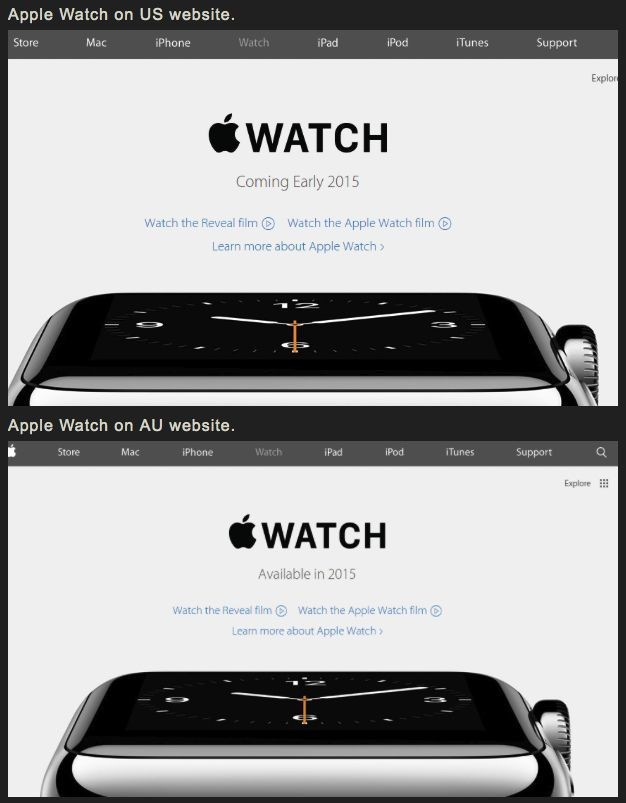 Apple Watch is totally a Jony Ive production