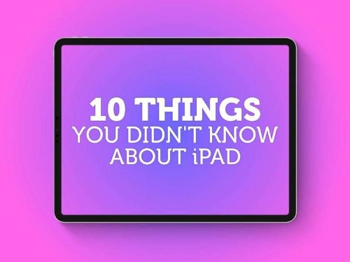 iPad trivia: 10 things you (probably) don't know about the iPad | Cult of Mac