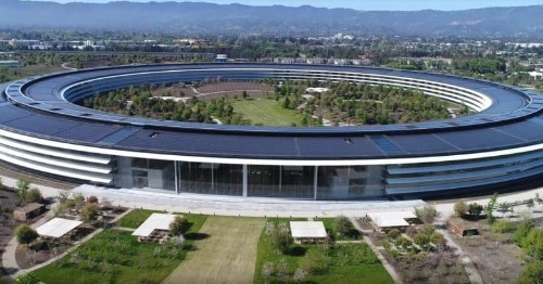 Epic Apple Park drone video could be the last one ever