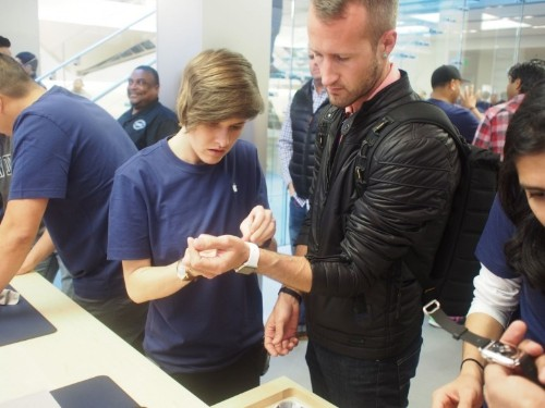 How an in-store Apple Watch demo will make you a believer