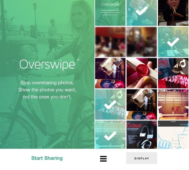 Sharing your iPhone photos just got safer with Overswipe