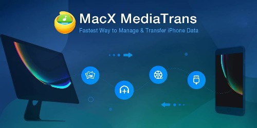 Transfer data between iPhone and Mac without iTunes: Get free MacX MediaTrans