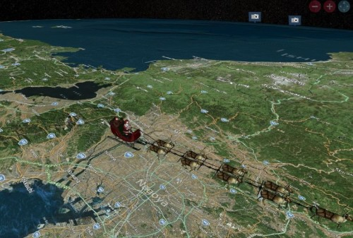 Spend Christmas Eve tracking Santa's journey from your iPhone