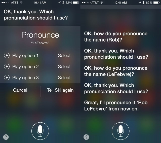Teach Siri How To Pronounce Tricky Names [iOS Tips]
