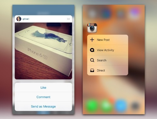 How Instagram made 3D Touch pop on iPhone 6s