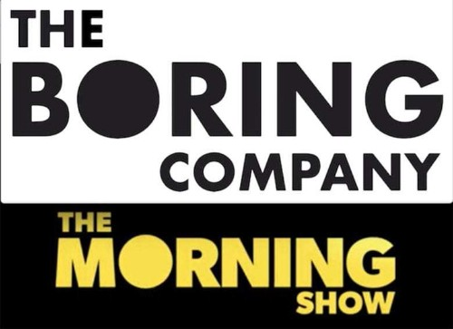 The Morning Show logo may seem Boring to Elon Musk
