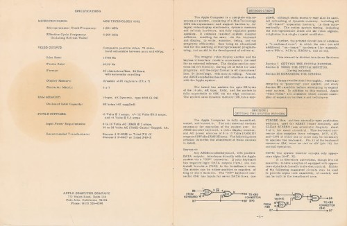 Original Apple-1 manual sells for almost $13,000