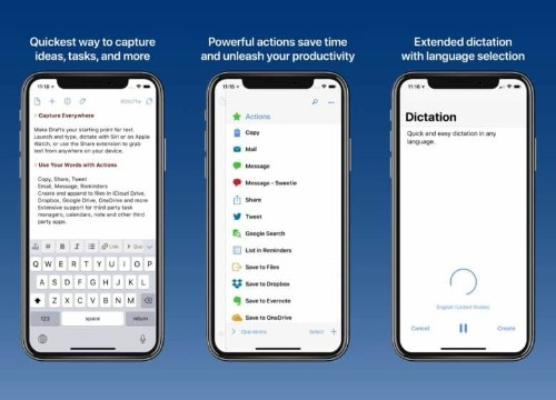 Drafts 5 for iOS goes free, adds fantastic pro features