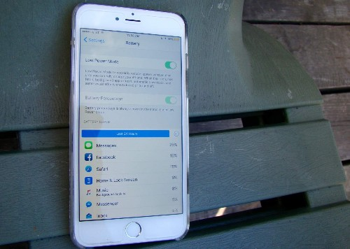 Save your battery with iOS 9's Low Power Mode
