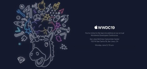 Apple's wacky unicorn invites press to June 3 WWDC keynote