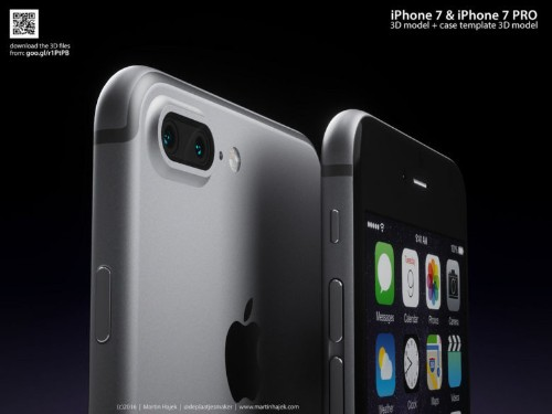 Renderings imagine how the iPhone 7 and 7 Pro may look