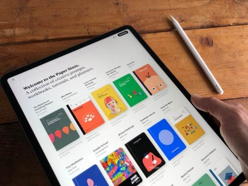 iPad sketch app Paper adds brilliant creative templates [Review]