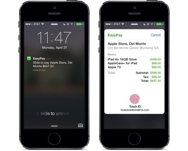 What the future of mobile payments could look like on the iPhone