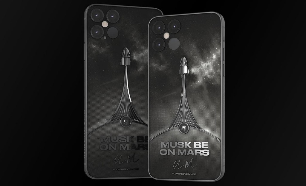 Celebrate Elon Musk's SpaceX Mars ambitions with custom iPhone 12 | Cult of Mac
