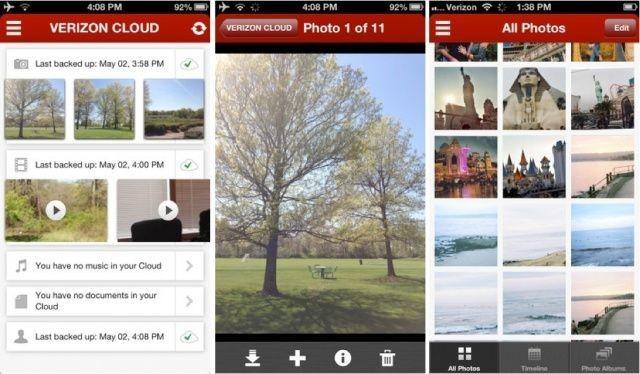 Verizon Cloud Backup App Comes To iOS