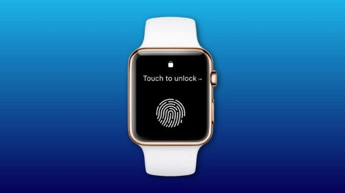Apple Watch might get Touch ID for easier unlocking