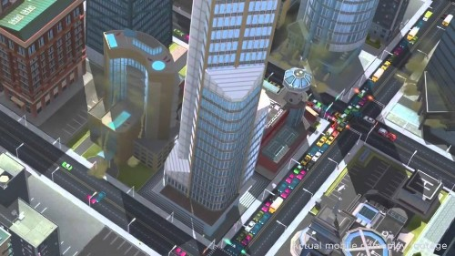 Beautiful cities are at your fingertips in Sim City for iOS