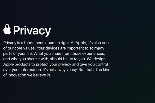 Apple exec takes the stage at CES to talk about the importance of privacy