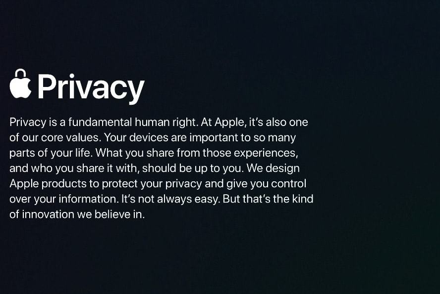 Apple exec turned up at CES to talk about the importance of privacy