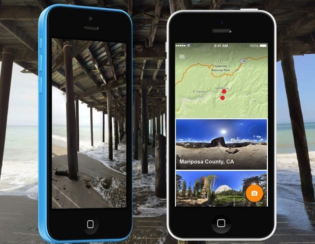 Shoot and share 360° panoramas with Google Photo Sphere for iPhone